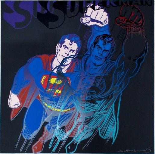 """Andy Warhol, Superman (from the portfolio """"Myths""""), 1981"""
