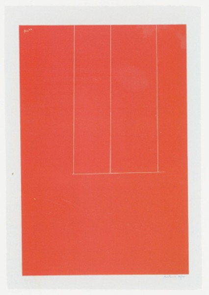 Robert Motherwell, London Series I: Untitled, 1971