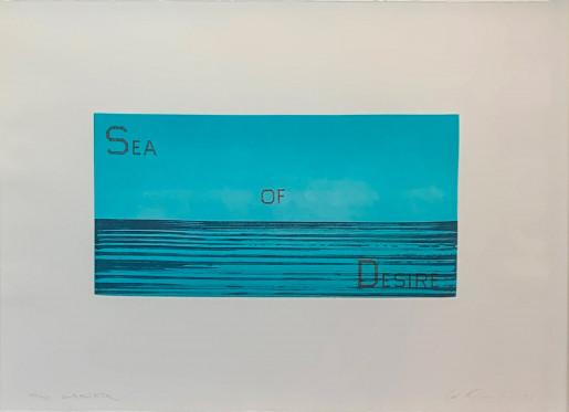 Ed Ruscha, Sea of Desire, 1983