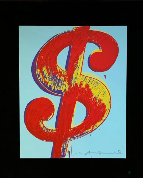 Andy Warhol, $ (1) (FS II.274-279), 1982