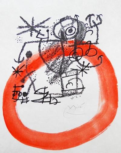 Joan Miró, Fourth Composition from Essences of the Earth / Les Essències de la Terra, 1970
