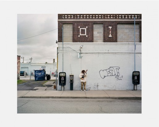 Dawin Meckel, musician, Detroit, from DownTown - Detroit, 2009