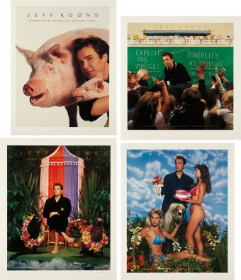 Art Magazine Ads (Flashart, Art in America, Artforum, Arts) by Jeff Koons