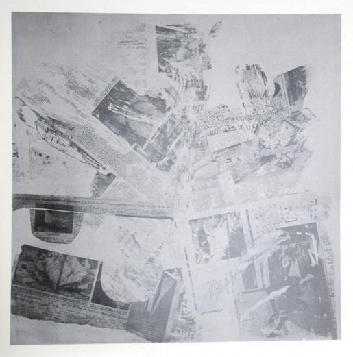 Robert Rauschenberg, Features from Currents, #60, 1970
