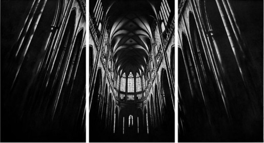 Robert Longo, Untitled (Cathedral), 2010