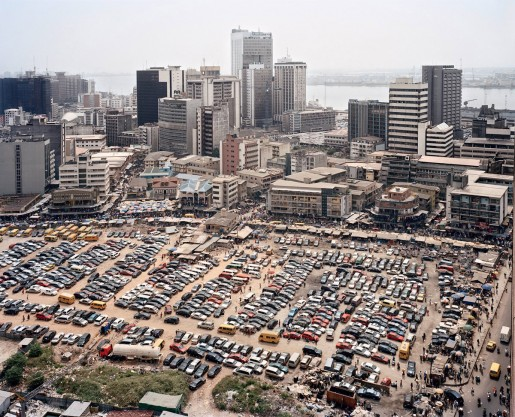 Julian Röder, Central business district on Lagos Island, Lagos, Nigeria, 2009