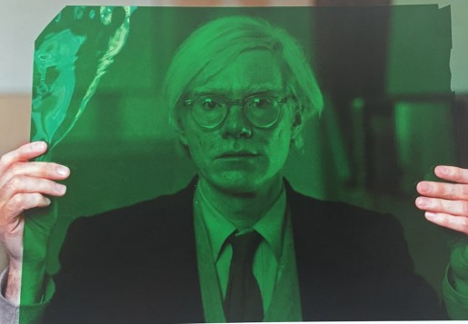 Thomas Hoepker, Andy Warhol in his Factory, New York, 1981