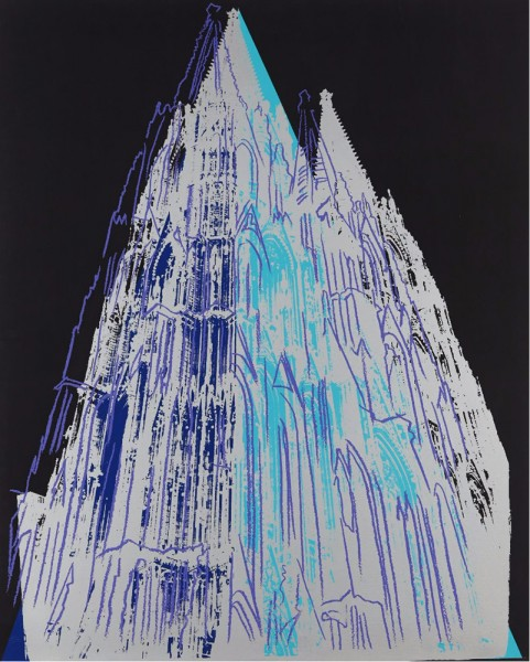 Andy Warhol, Cologne Cathedral, 1985