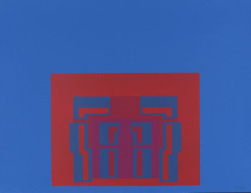Robyn Denny, The Paramount Suite (blue), 1969