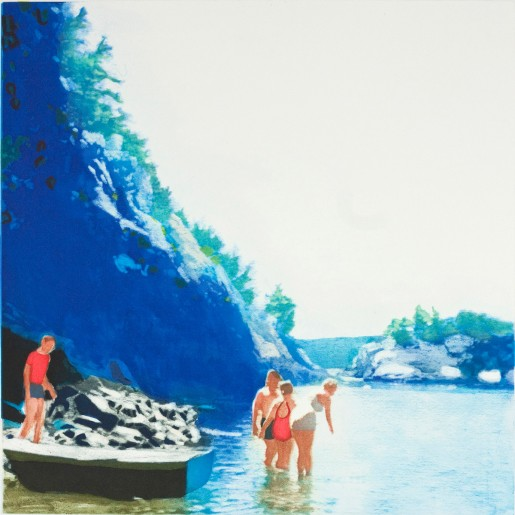 Isca Greenfield-Sanders, Mountain Stream, 2012