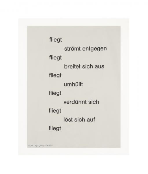 Eugen Gomringer, Untitled, 1951-1990