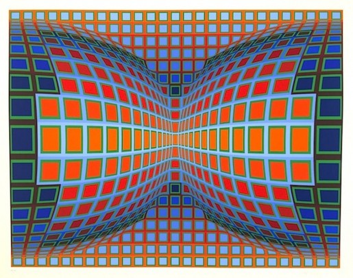 Victor Vasarely, Papillon, 1981