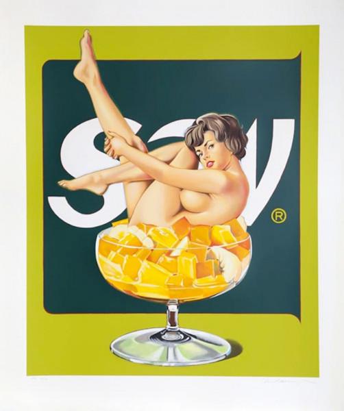 Mel Ramos, Miss Fruit Salad, 1989