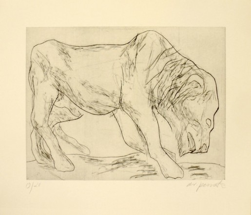 A.R. Penck, Löwe 2, 1988