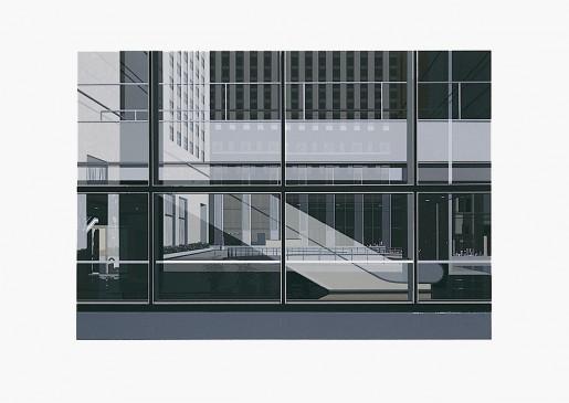 Richard Estes, Manhattan from the Portfolio Urban Landscapes III, 1981