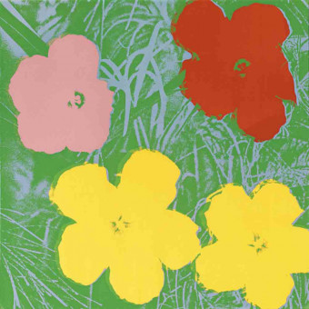 Flowers (FS II.65) by Andy Warhol