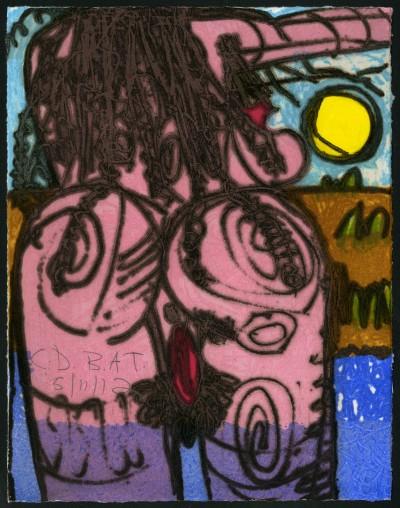 The Nude by Carroll Dunham