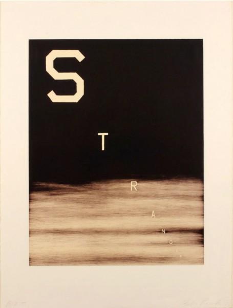 Ed Ruscha, Stranger, 1983