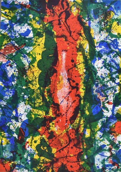 Sam Francis, Untitled (SF-344), 1990