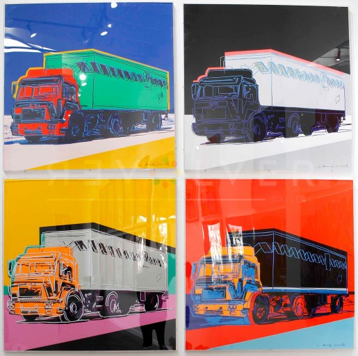 Andy Warhol, Truck (FS II.367-370), 1985
