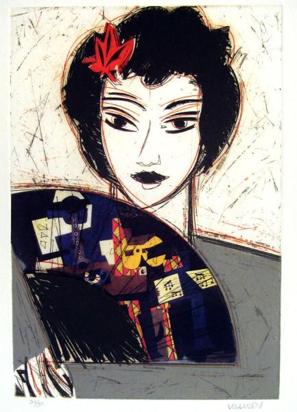 Manolo Valdes, Dama con Abanico II, 2007