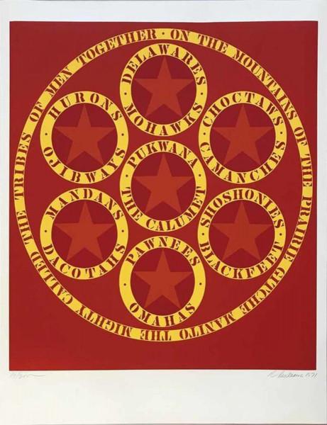 Robert Indiana, Decade (The Calumet), 1971