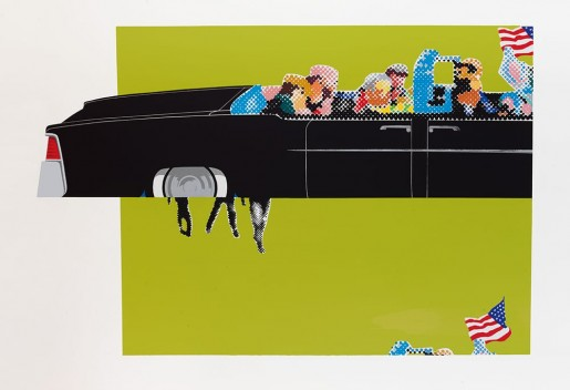 Gerald Laing, Lincoln Convertible, 1963/2007