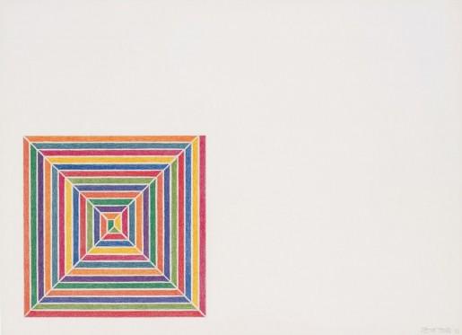 Frank Stella, Line Up, 1973