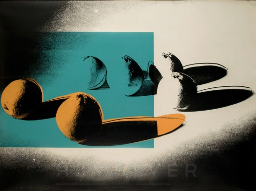 Andy Warhol, Space Fruit: Oranges (FS II.197), 1978