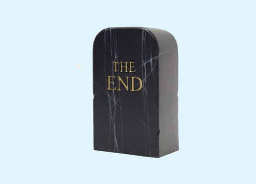 Maurizio Cattelan, The End, 2019