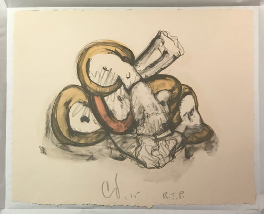 Claes Oldenburg, Pile of Erasers, 1975