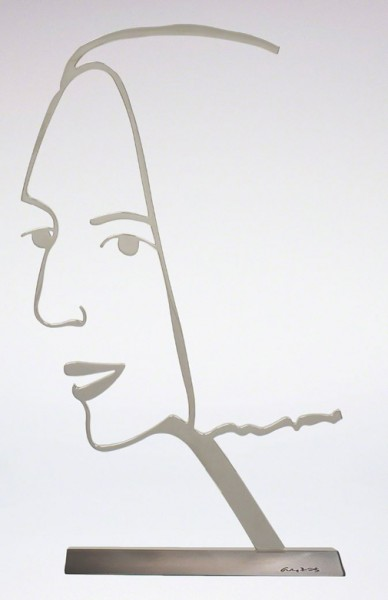 Alex Katz, Ada 2 (Outline), 2018