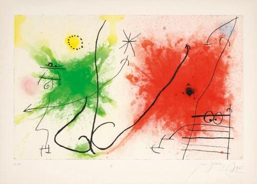 Joan Miró, Partie de Champagne V, 1967