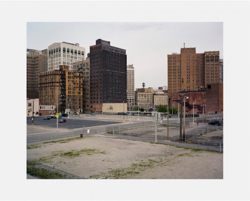 Dawin Meckel, city center #01, Detroit, from DownTown - Detroit, 2009