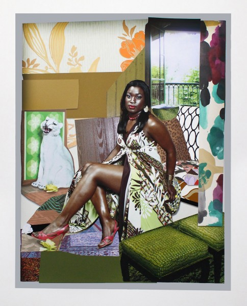Mickalene Thomas, I've Been Good To Me, 2015