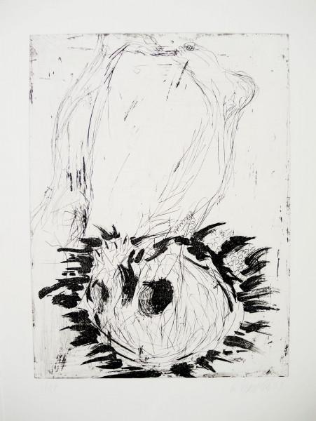 Georg Baselitz, Fridas Traum, 2001