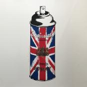 Spray Can (Union Jack)
