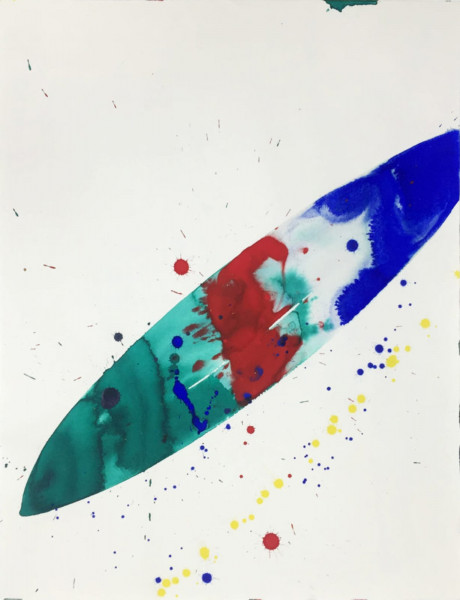 Sam Francis, Untitled (SF66-156), 1966