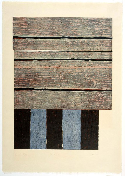 Sean Scully, Standing I, 1986