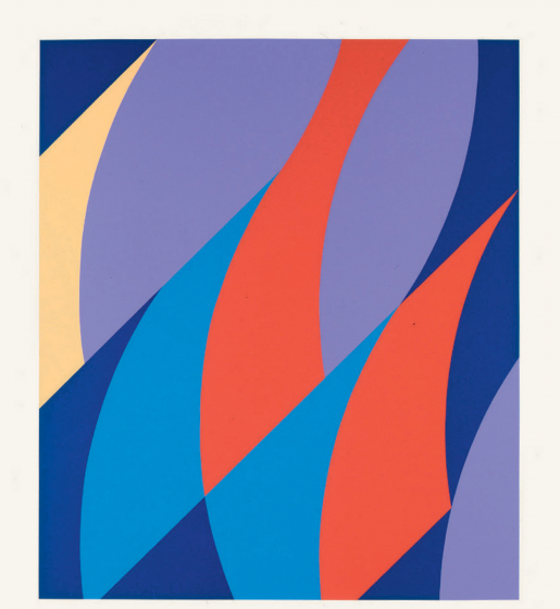 Bridget Riley, Large Fragment, 2006