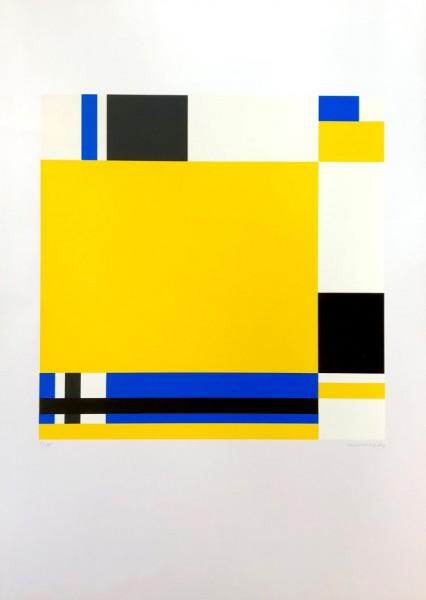 Jo Niemeyer, Variation 78 (Yellow), 1988