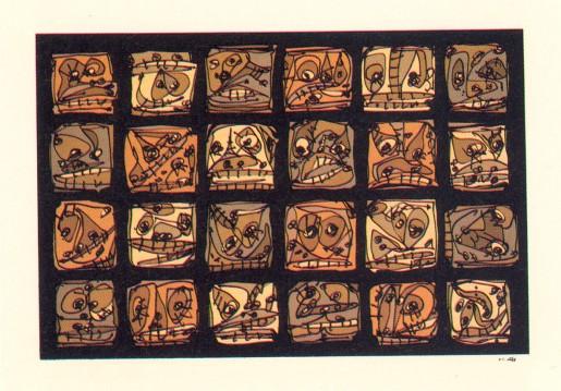 Antonio Saura, Serie abierta 2, 1989