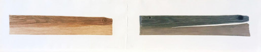 Ed Ruscha, New Wood, Old Wood, 2007