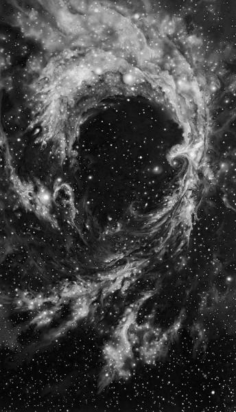 Robert Longo, Rosette Nebula, 2014