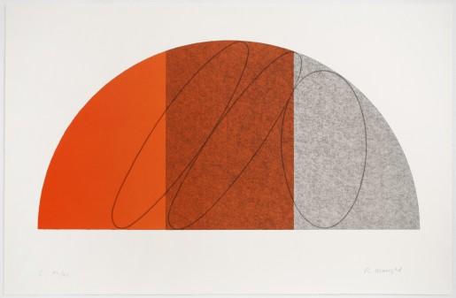 Robert Mangold, Semi-Circle I, 1995