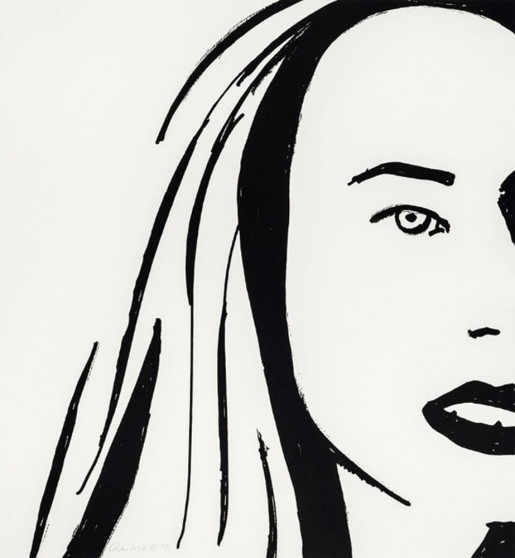 Alex Katz, Beauty 6, 2019