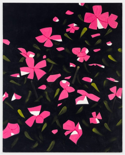 Alex Katz, White Impatiens, 2015