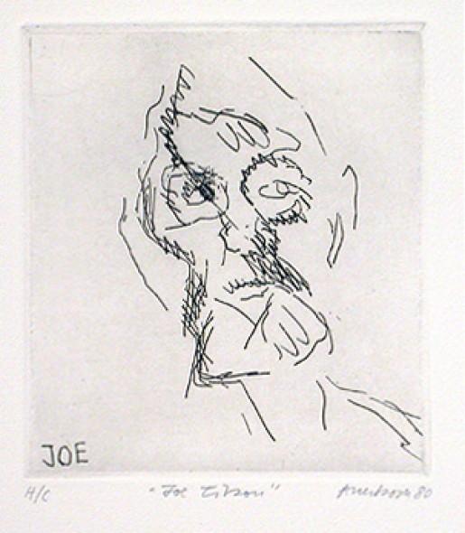 Frank Auerbach, Joe Tilson, 1980