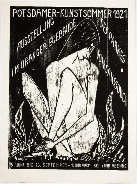 Otto Mueller, Potsdamer Kunstsommer 1921 - Große Sitzende, 1921/2007