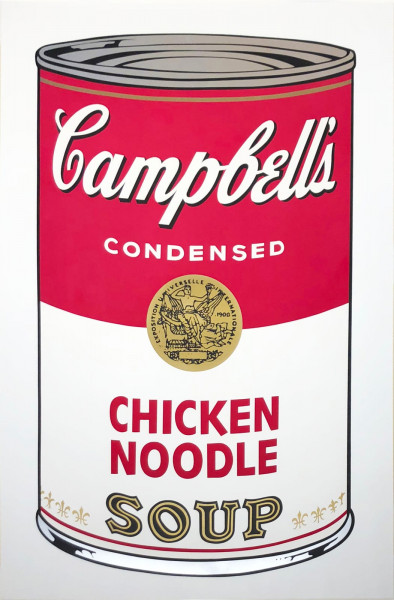 "Andy Warhol, Chicken Noodle (FS II.45), from the Portfolio ""Campbell's Soup I"", 1968"